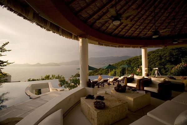 Luxury Villa in Acapulco Mexico where a principal would go to vacation in the summer.
