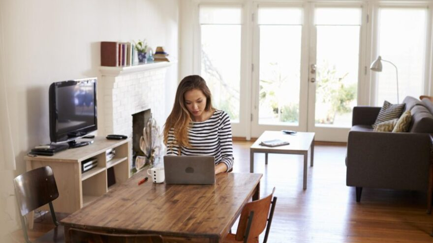 VA, virtual assistant, working from home,